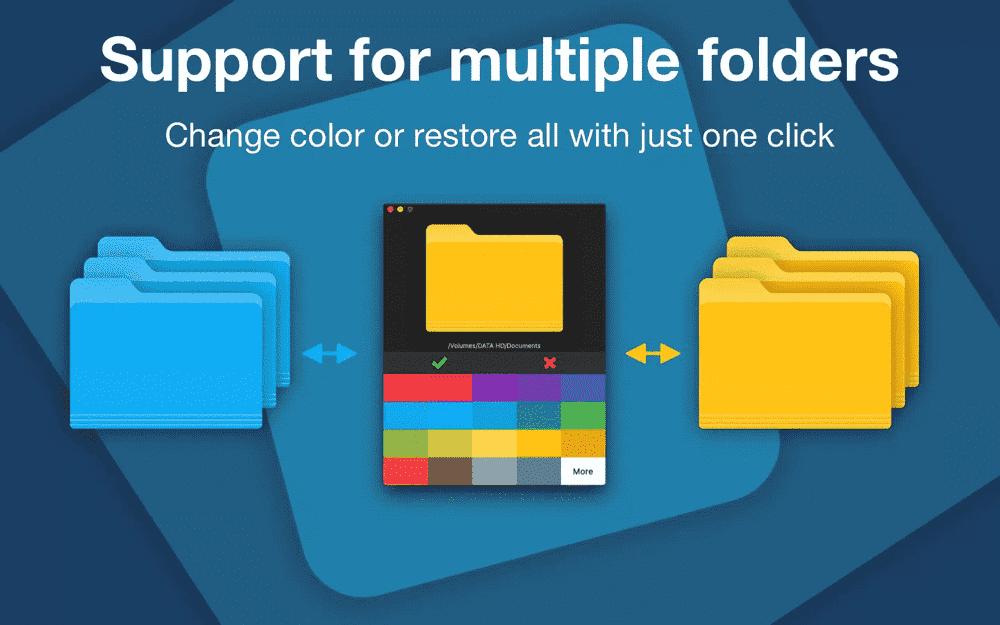 Change the Folder Color on Mac Randomly