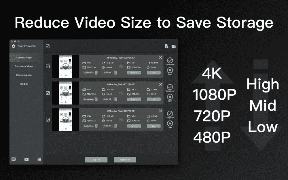 Compress Video and Audio