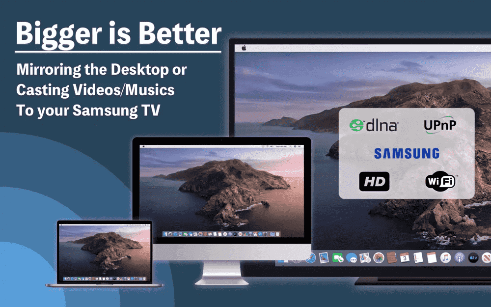 How to setup network to cast my Mac to TV wirelessly?