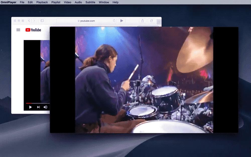 Safari Extension to Control Youtube/Vimeo Video As Local