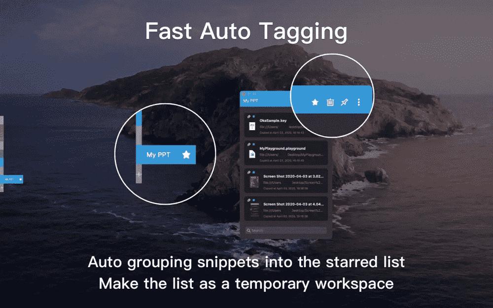 Fast Auto Tagging
